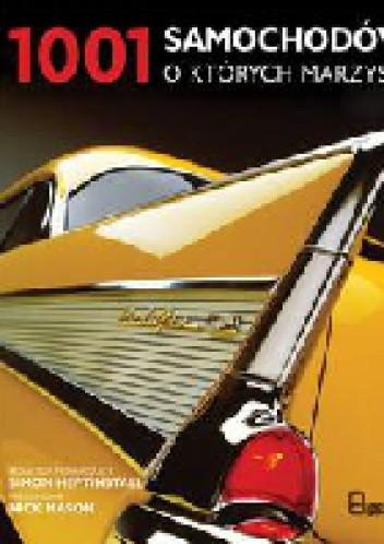 Okładka książki 1001 samochodów o których marzysz
