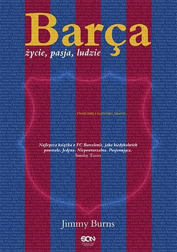 Okładka książki Barça. Życie, pasja, ludzie