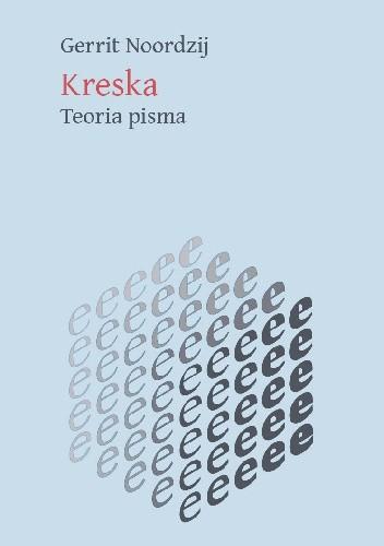 Okładka książki Kreska. Teoria pisma