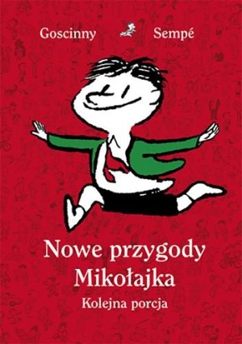 Okładka książki Nowe przygody Mikołajka. Kolejna porcja