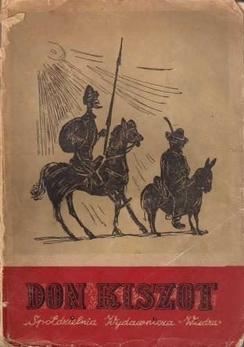 Okładka książki Don Kiszot z La Manczy