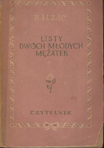 Okładka książki Listy dwóch młodych mężatek