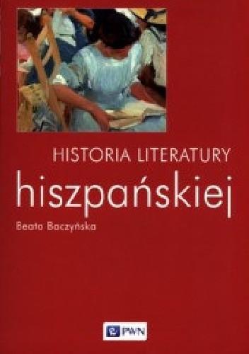 Okładka książki Historia literatury hiszpańskiej
