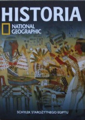 Okładka książki Schyłek starożytnego Egiptu. Historia National Geographic