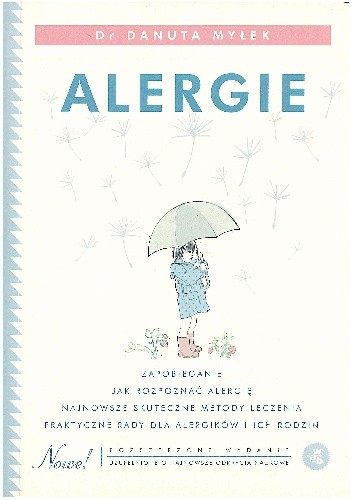 Okładka książki Alergie