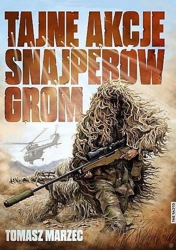 Okładka książki Tajne akcje snajperów GROM