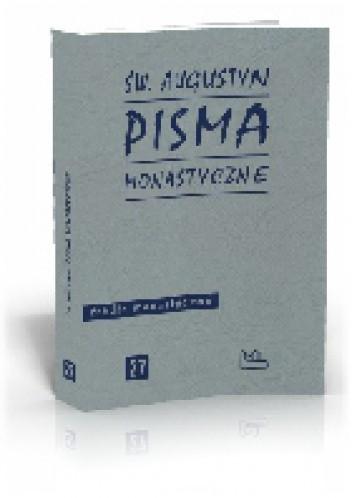 Okładka książki Pisma monastyczne