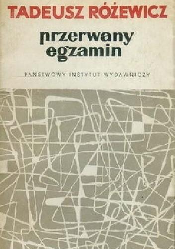 Okładka książki Przerwany egzamin