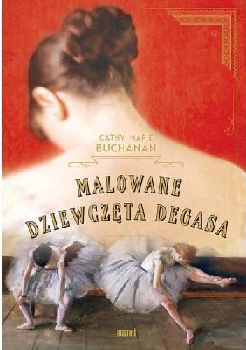 Okładka książki Malowane dziewczęta Degasa