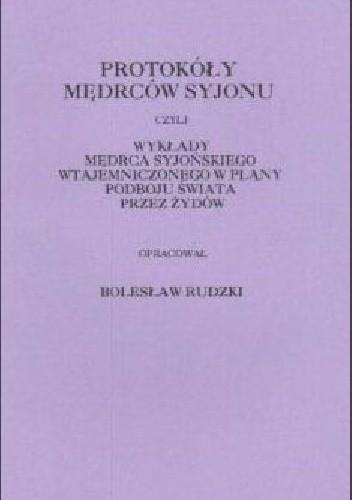 Okładka książki Protokoły Mędrców Syjonu.