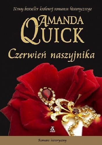 Okładka książki Czerwień naszyjnika