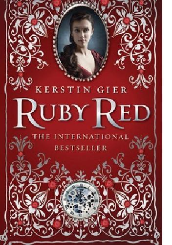 Okładka książki Ruby Red