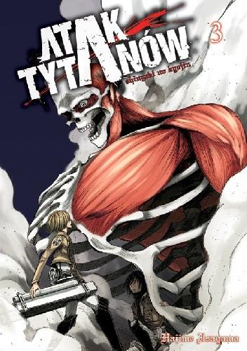 Okładka książki Atak Tytanów tom 3