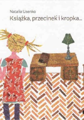 Okładka książki Książka, przecinek i kropka...