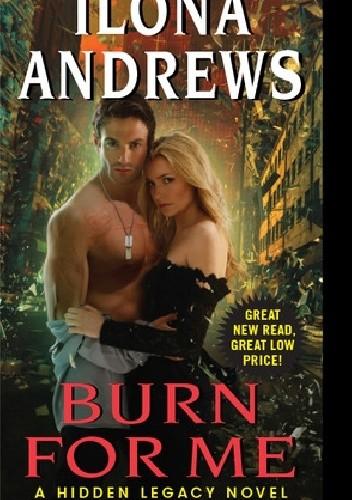 Okładka książki Burn for Me