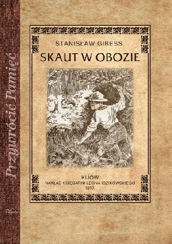 Okładka książki Skaut w obozie