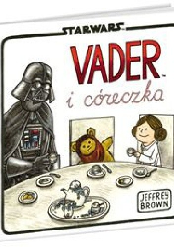 Okładka książki Vader i córeczka