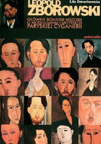 Okładka książki Leopold Zborowski- główny bohater historii o Modiglianim i artystach paryskiej cyganerii
