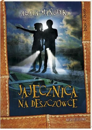 Okładka książki Jajecznica na deszczówce