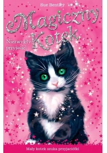 Okładka książki Magiczny kotek. Niezwykły przyjaciel