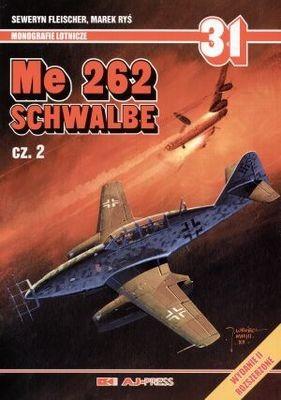 Okładka książki Schwalbe Me 262 cz.2