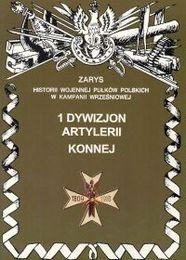 Okładka książki 1 dywizjon artylerii konnej