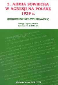 Okładka książki 3 Armia Sowiecka w agresji na Polskę 1939 roki