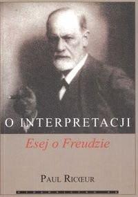Okładka książki O interpretacji. Esej o Freudzie