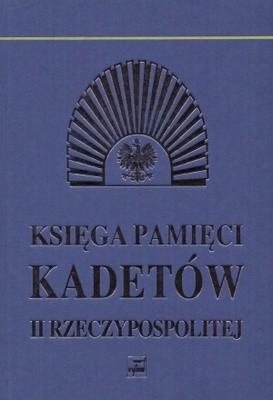 Okładka książki Księga pamięci kadetów II Rzeczypospolitej