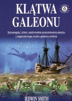 Okładka książki Klątwa galeonu
