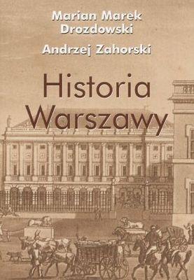 Okładka książki Historia Warszawy