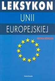 Okładka książki Leksykon Unii Europejskiej