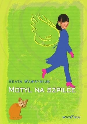Okładka książki Motyl na szpilce