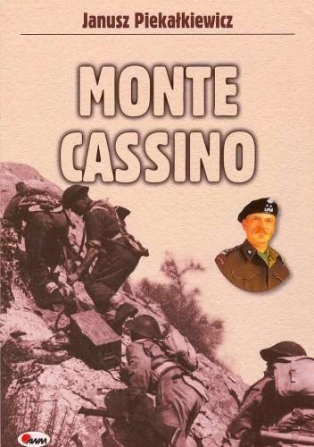 Okładka książki Monte Cassino wyd. AWM