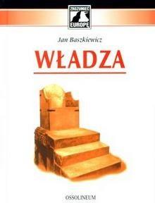 Okładka książki Władza