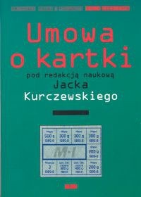 Okładka książki Umowa o kartki
