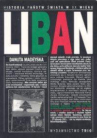 Okładka książki Liban