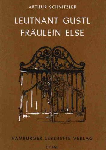 Okładka książki Leutnant Gustl Fraulein Else