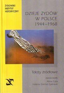 Okładka książki Dzieje Żydów w Polsce 1944 - 1968