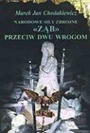 """Okładka książki Narodowe Siły Zbrojne. """"Ząb"""" przeciw dwu wrogom"""