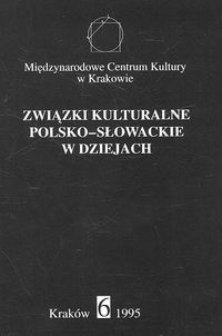 Okładka książki związki kulturalne polsko - słowackie w dziejach nr 6