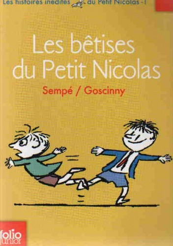Okładka książki Les bêtises du Petit Nicolas