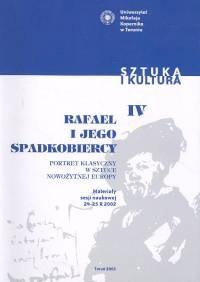 Okładka książki Rafael i jego spadkobiercy
