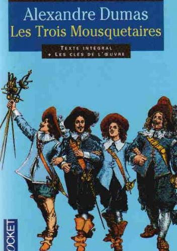 Okładka książki Les trois mousquetaires