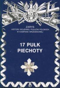 Okładka książki 17 Pułk Piechoty