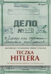 Okładka książki Teczka Hitlera