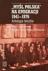 Okładka książki Myśl Polska na emigracji 1941-1976
