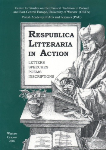Okładka książki Respublica Litteraria in Action Part V Vol.1