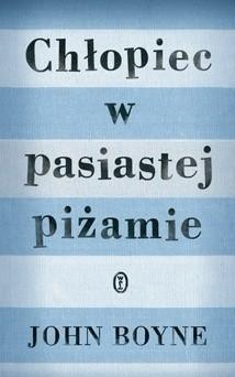 Okładka książki Chłopiec w pasiastej  piżamie