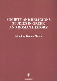 Okładka książki Society and religions